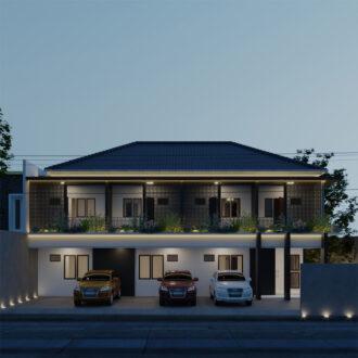 Desain Rumah Kos Pondok Jaya , Jakarta Selatan