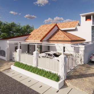 Desain Rumah di Bintara , Kota Bekasi