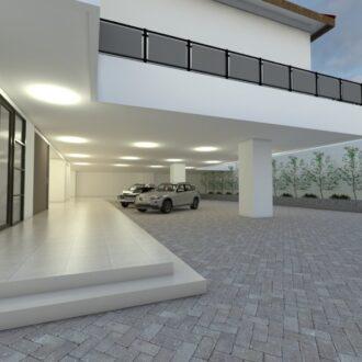 Desain Rumah Kos di Jakarta Barat