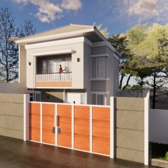 Desain Rumah di Jagakarsa , Jakarta Selatan