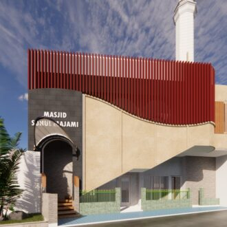 Desain Masjid Shuhul Majami'i
